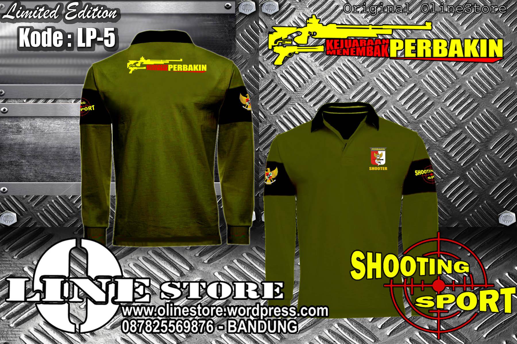 Lp 5 Polo Shirt Perbakin Kejuaraan Menembak 6 Ready Stock Kaos Jual Baju Kemeja Jaket Poloshirt Katalog O Line Store Kode