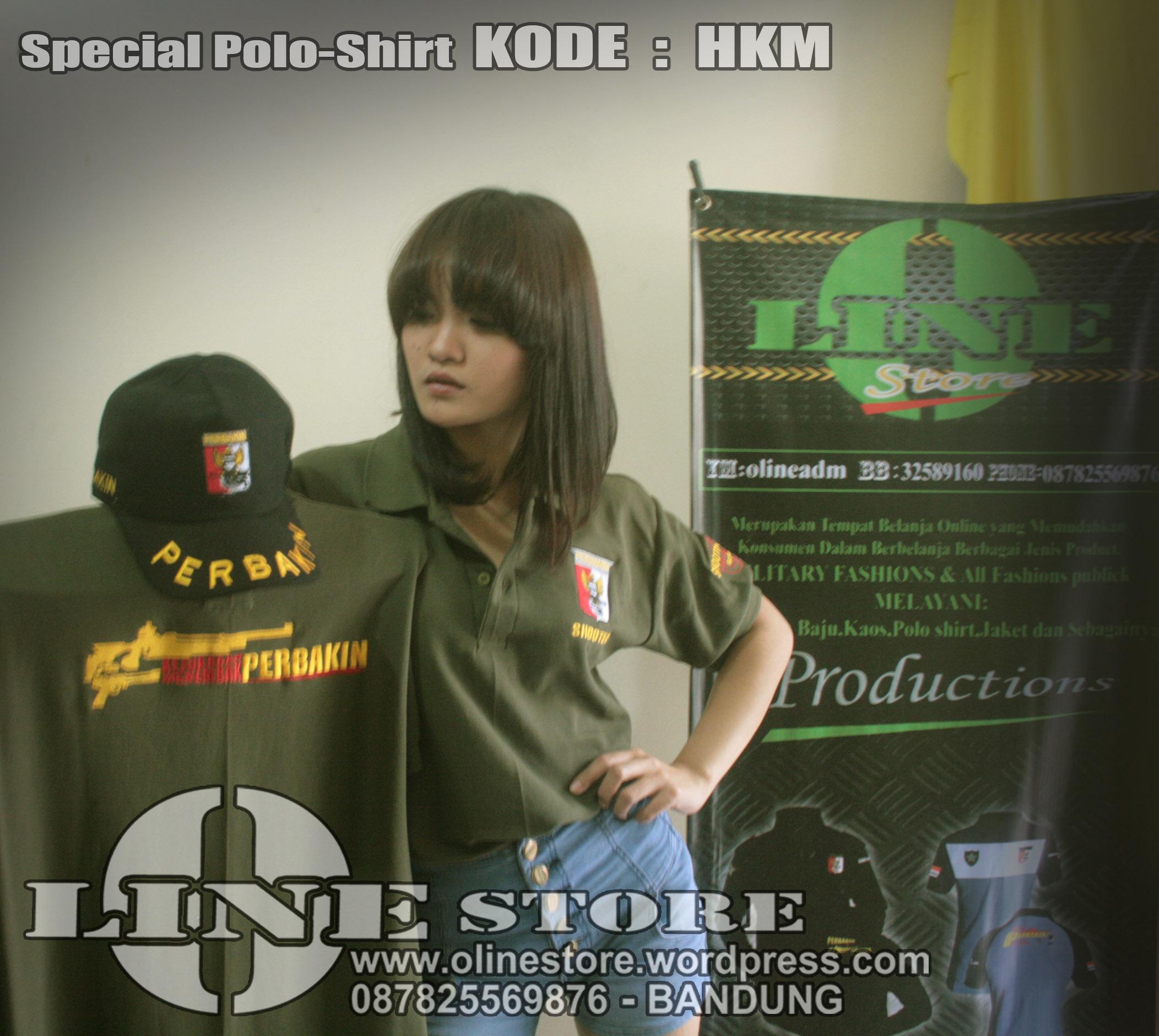Jual Baju Perbakin Tembak Reaksi Ipsc O Line Store Productions Kaos Polo Shirt Lengan Panjang Kemeja